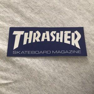 THRASER STICKER